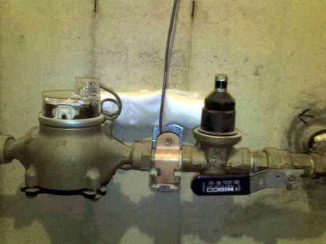 Water Main Flushing Valve